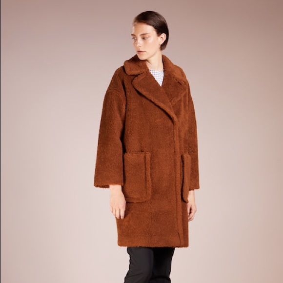 45140ccf7eb41 MaxMara Jackets & Coats | Max Mara Weekend Teddy Bear Coat Us 6 ...